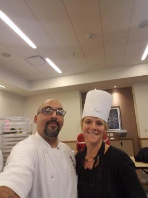 Noraleen with Chef in Austin TX